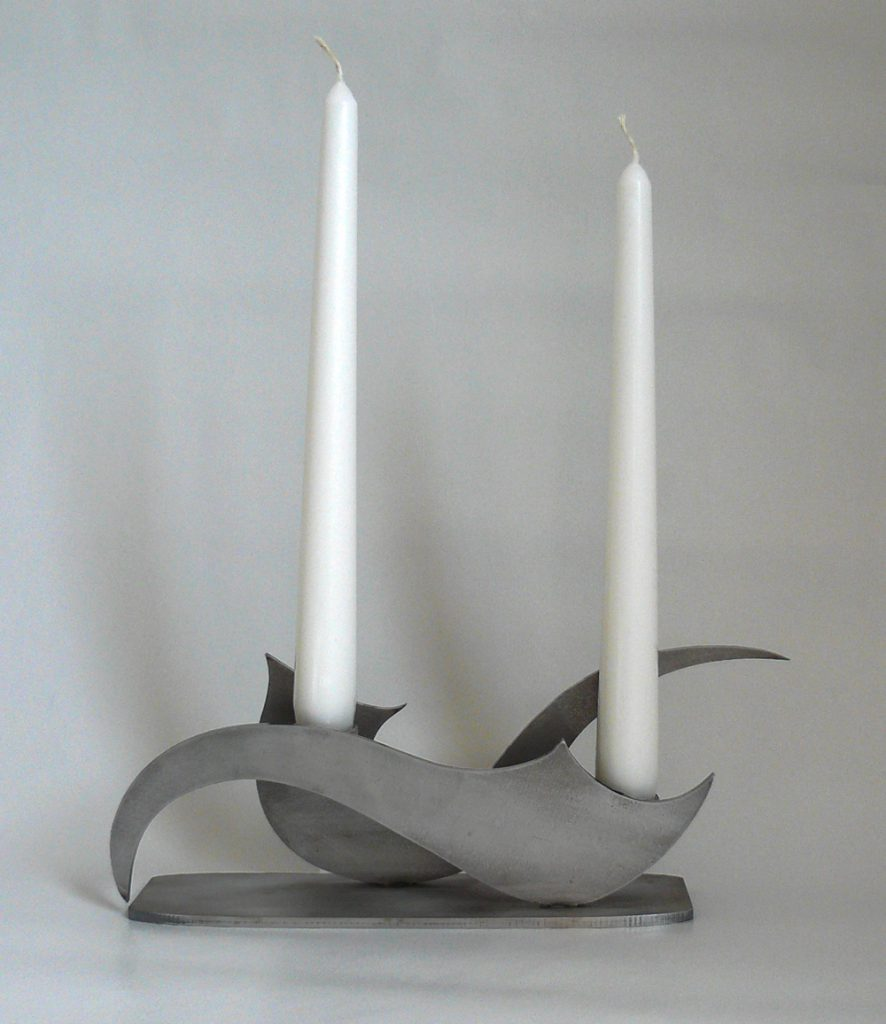 Contemporary candle holder Wyzpa