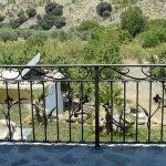 Wrought iron railing in cortijo in Alpujarra