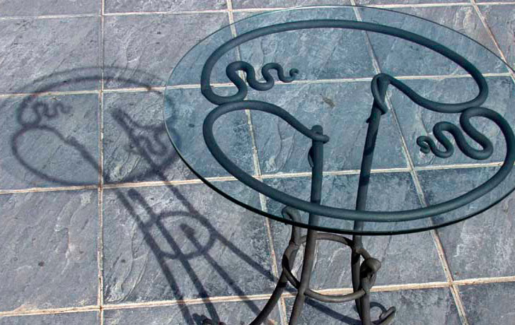 contemporary iron furniture title image